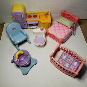 Fisher-Price-My-First-Dollhouse-Furniture-YOUR-CHOICE