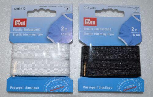 1,48 € - 1m 2m elástico einfassband 15mm elastic einfassgummi falzgummi