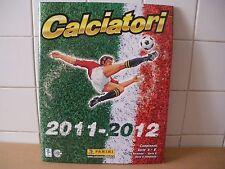 Calciatori 2011 - 2012  Album di figurine completo  Panini (HOM)