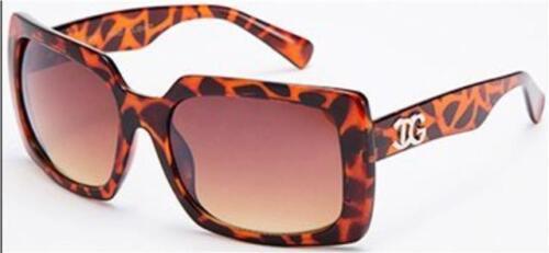 Designer Schmetterling Gewickelt Quadratische Sonnenbrille Retro Groß UV400