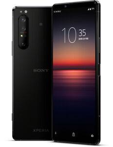 "Sony Xperia 1 II schwarz 256GB Android Smartphone 6.5"" 12MP 8GB RAM"