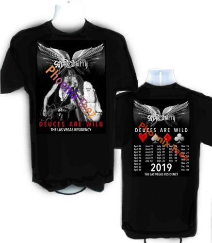 Aerosmith Las Vegas Wild di 2019 Are Shirt Deuces Residency T Concerto qqPg1