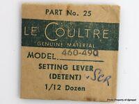 Jaeger Lecoultre Set Lever Cal. 460 Part 443 25