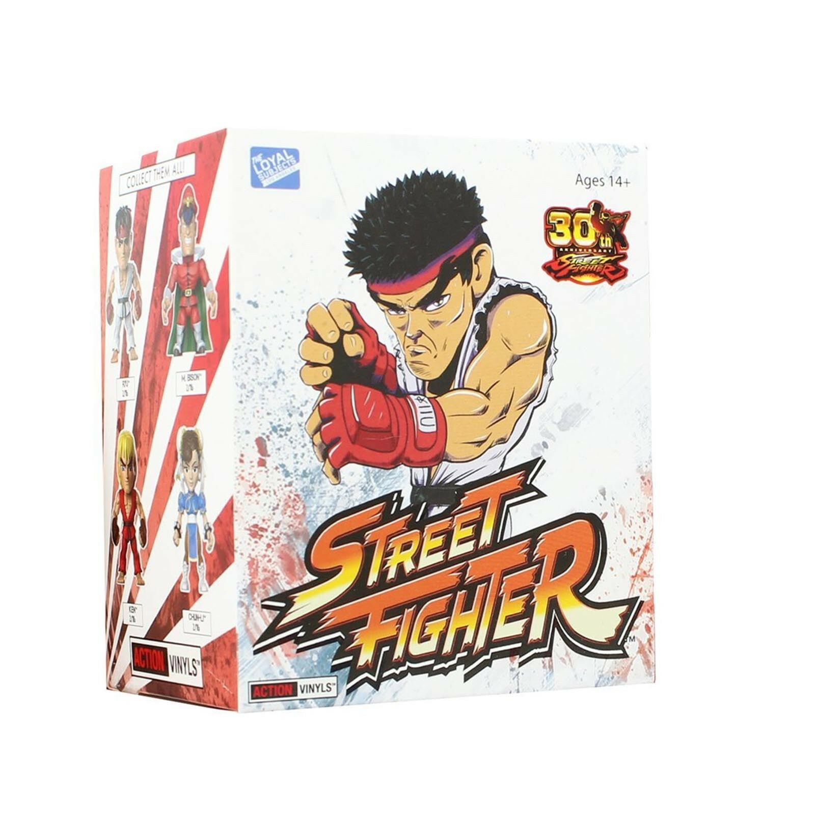 Loyal Subjects Street Fighter Blind Box 1 Full Case Of 16 Blind Boxes NEW