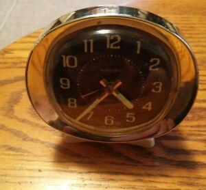 000 VTG Westclox Baby Ben Usa Made Alarm Clock Glow in The Dark Hands
