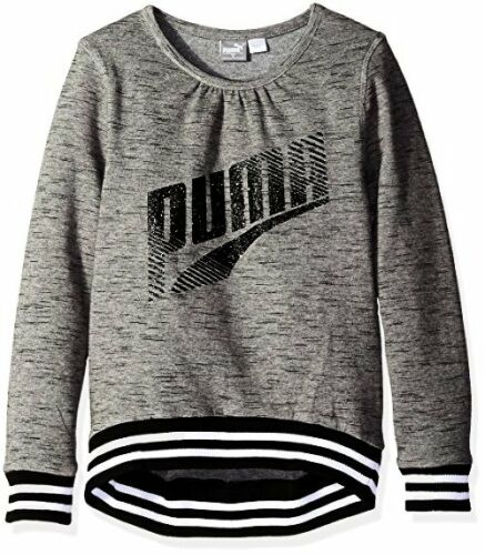 Childrens Apparel Big Girls Long Sleeve Sweatshirt Pick SZ//Color. ULC PUMA