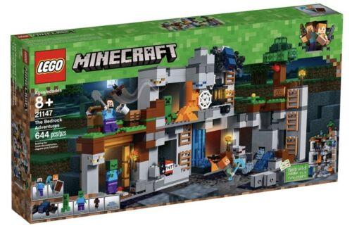 *BRAND NEW* Lego Minecraft Set #21147 The Bedrock Adventures 644 Pieces RETIRED