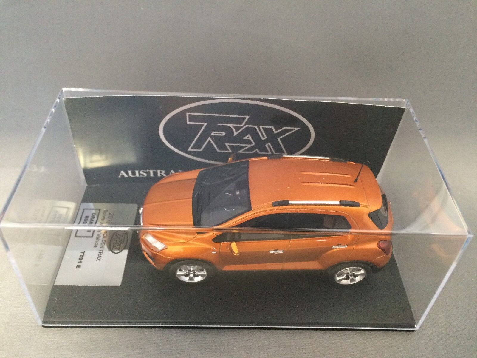 Trax TT01E 013 Holden Trax Sports Vehicle orange