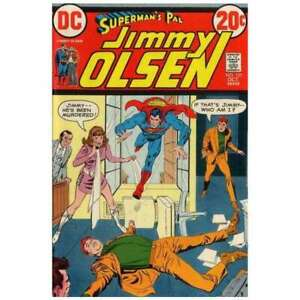 Superman-039-s-Pal-Jimmy-Olsen-1954-series-153-in-VF-condition-DC-comics-ug