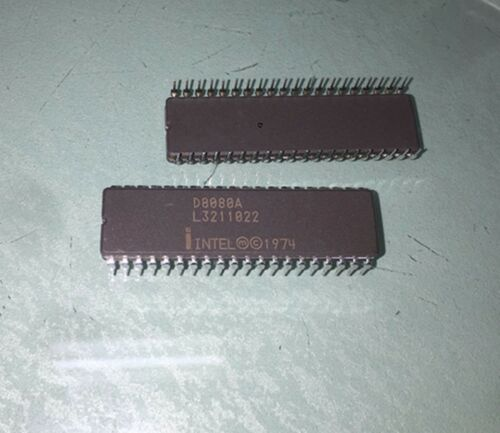 1PC INTEL D8080A CDIP-40 8-Bit Microprocessor