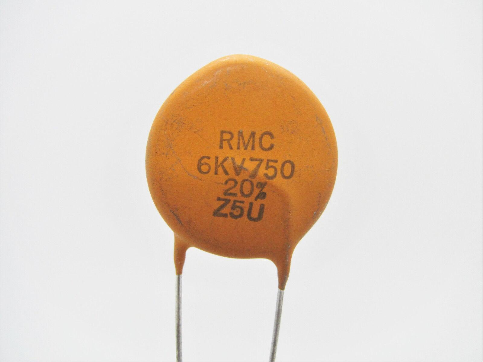 Lot of 25 S3N Ceramic Disc Capacitors 100pF 1000V NOS
