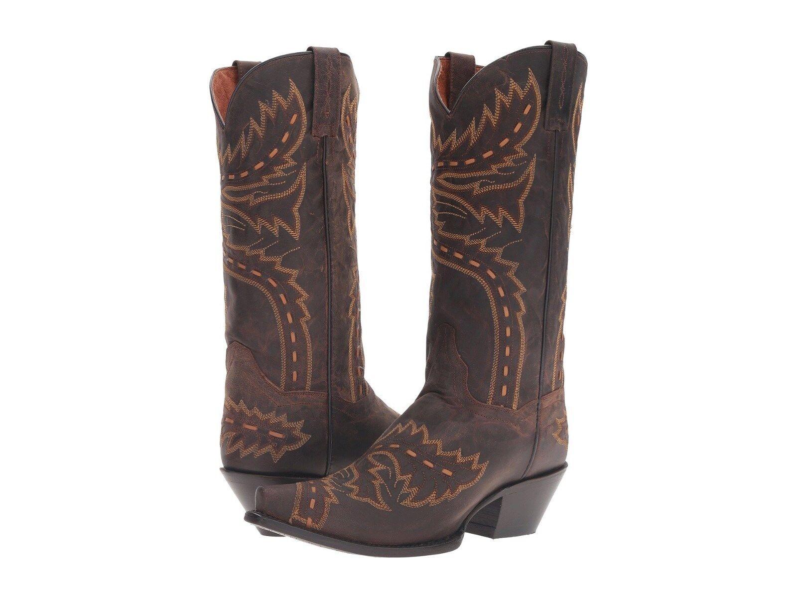 Dan Post Sidewinder  Womens Boots Leather  Brown  9.5  NIB