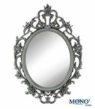 Small Decorative Framed Oval Wall Mounted Mirror Classic Vintage Baroque 15x10.5