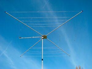 Details about MFJ-1836 Six Band 20-6M HF 1/2 Wave Cobweb Antenna, Handles  300W