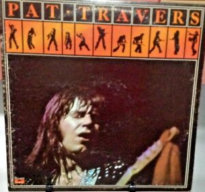 PAT-TRAVERS-Self-Titled-Album-Released-1976-Vinyl-Record-Collection-US-pressed