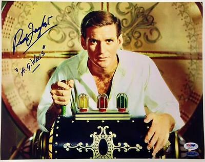 "ROD TAYLOR ""H.G WELLS"" Autograph THE TIME MACHINE Signed 11x14 Photo PSA/DNA COA"