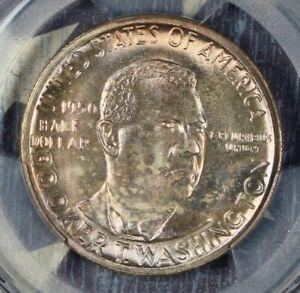 1950-S-Booker-T-Washington-Commemorative-Silver-Half-Dollar-PCGS-MS66