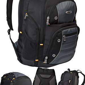 Black//Gray Targus Drifter II Backpack for 16-Inch Laptop TSB238US