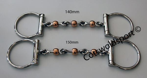 CS Copper Waterford Copper CS Roller Dog Bone Snaffle 6