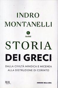 montanelli storia dei greci  Storia dei Greci 23.Indro Montanelli.Storia dei greci dalla minoica ...