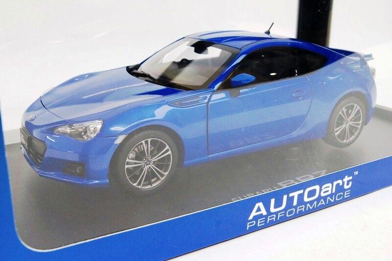 78691 AUTOART 1 18 SUBARU BRZ WR bleu MICA MODEL CARS