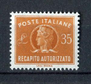 S8038) Italy Republic MNH 1974, Reapito Licensed L.35 - 1v