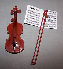 Barbie Doll Accessory Fashionista Life in the Dreamhouse Violin & Bow Fiddle Lot