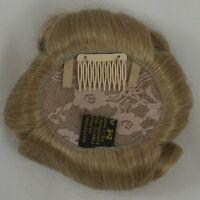 Small Wavy Hair Enhancer Top Pageant Piece Wiglet Topper - 100% Human Hair 6