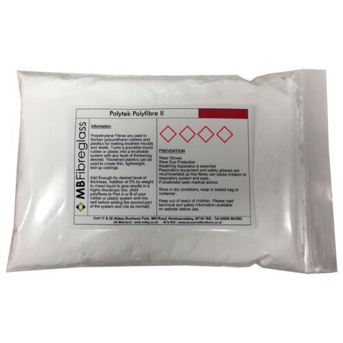 Polytek PolyFibre II 250g Polyurethane Thickener