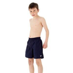 Speedo-Boy-039-s-15-Inch-Navy-Swimming-Shorts-Size-Small