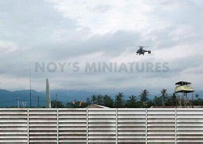 Noy/'s Miniatures 1//48 Airfield Tarmac Sheet IDF//AF Airbase Set #1 Concrete Wall