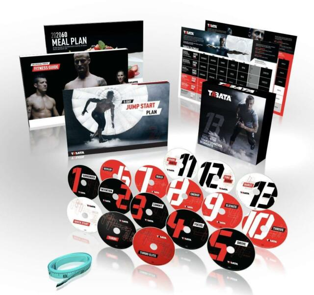 Tabata Total Body DVD Transformation Workouts Exercise Fitness Program
