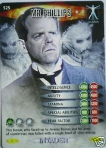 MINT !! DR WHO INVADER CARD 509 LETTER