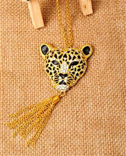 Muy Fresco Leopardo Collar de encanto múltiples opciones