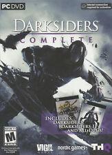 DARKSIDERS COMPLETE Dark Siders I + II + DLC Compilation - Windows PC Game