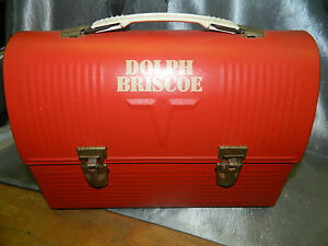Vintage very cool Dolph Briscoe Lunch Box