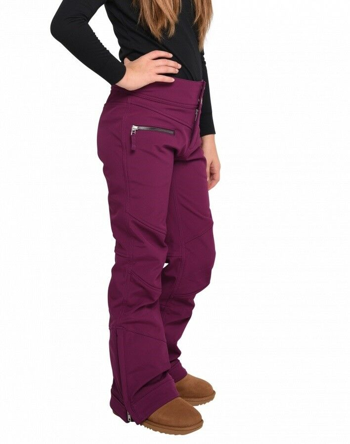 Obermeyer  Jolie Softshell Ski Pant - Youth Girls - Metal Magenta - Medium  professional integrated online shopping mall