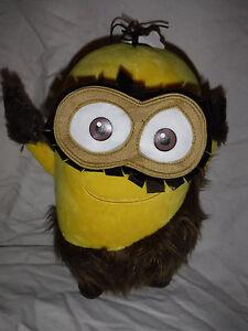 Universal-Studios-Minions-Bob-Caveman-11-034-Plush-Soft-Toy-Stuffed-Animal