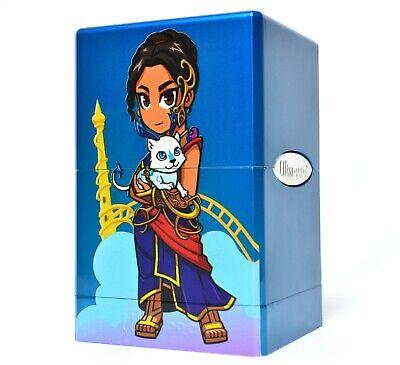 Custom Glossy Blue Saheeli Ultra Pro Satin Tower Deckbox mtg yugioh pokemon