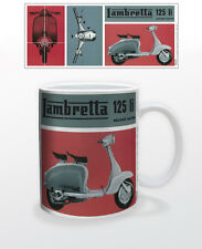 LAMBRETTA 125LI 11 OZ COFFEE MUG MOTOR SCOOTERS INNOCENTI ITALY MILAN MOPED COOL