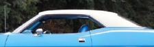 70 71 72 73 74 Plymouth Cuda 73 74 Dodge Challenger White Vinyl Topmopar Fits 1974 Challenger