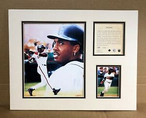 San Francisco Giants BARRY BONDS 1995 Baseball 11x14 MATTED  Kelly Russell Print