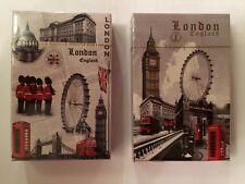 2 X Playing Cards London England UK Souvenir Gift