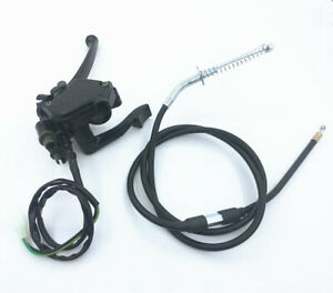 ATV Thumb Throttle Cable Handle Grips 50cc 70 90cc 110cc 125cc 150cc 200cc 250cc