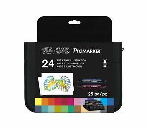 Winsor-amp-Newton-Promarker-Arts-amp-Illustration-Set-Set-of-24