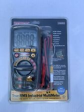 True Rms Industrial Multimeter Acdc Voltage Waterproof Craftsman Professional