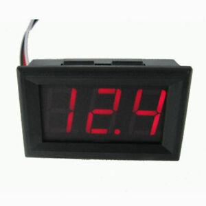 DC-0-56-039-039-Volt-Meter-Voltmeter-LED-Digital-Gauge-Battery-Charge-Indicator-Tester