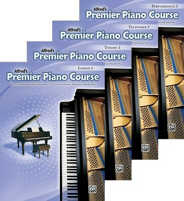 Alfred/'s Premier Piano Course Level 1A Four Book Pack  Lesson//Theory//Perf//Tech