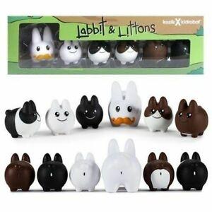 1.5in Labbit and Littons Vinyl 6-Pack KidRobot
