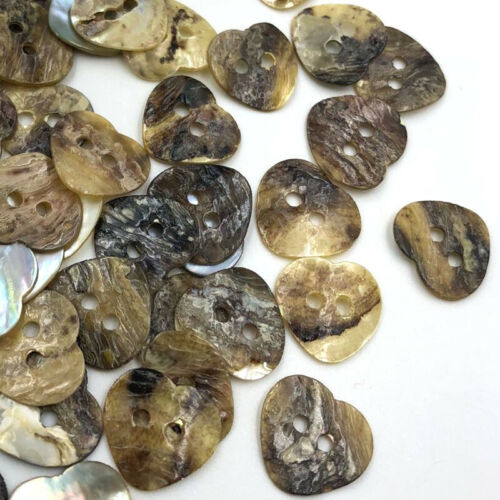 100pcs Mix Natural Shell Sewing Buttons Color Japan Mother of Pearl MOP PT300